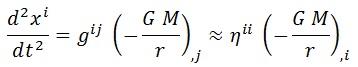 ecuación newton