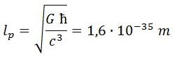 longitud de planck 1