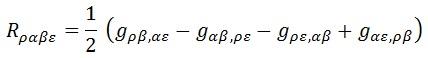 tensor de riemann plano
