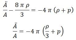 2ª ecuación de friedmann 2
