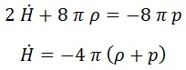 2ª ecuación de friedmann
