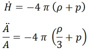 2ª ecuación friedmann