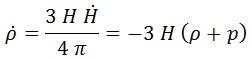 derivada densidad energía