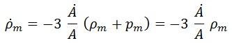 derivada energía materia