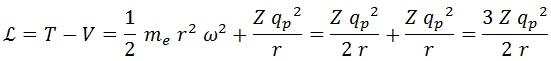 lagrangiana electrón 2