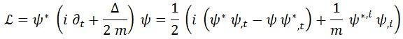 lagrangiana simétrica
