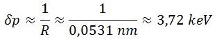 momento electrón