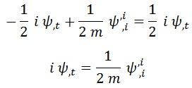 reobtención Schrödinger