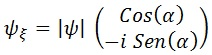 vector complejo conjugado