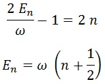 cuantización energía