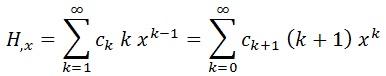 derivada serie