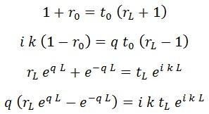 ecuaciones continuidad