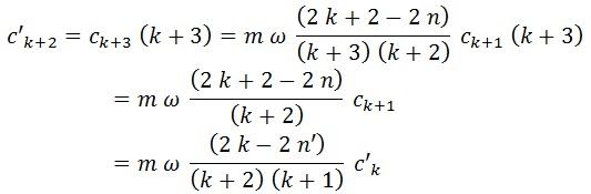 relación coeficientes